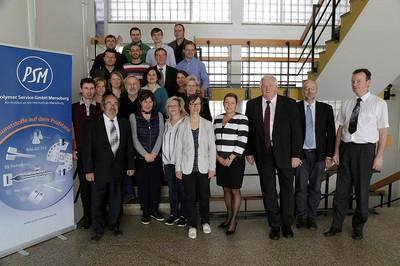 Mitarbeiter der Polymer Service GmbH Merseburg