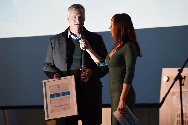 Peter Putsch bei der Preisverleihung Hugo Junkers Preis 2014