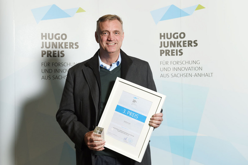Peter Putsch Hugo Junkers Preis 2014, Foto: IMG/Thomas Meinicke