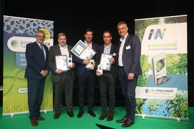 winners of the BIOPOLYMER Innovations Award 2019