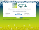 POLYKUM DigiLab Screenshot – Materialsuche